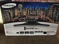 """Samsung 55"""" LED TV Curved 4K SMART"""