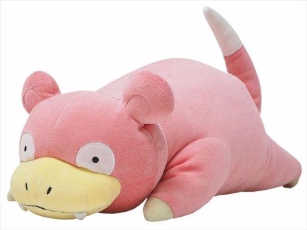 "GREAT GIFT - NWT PZ14 Slowpoke 18"" Plush Sanei All Star Series Mochifuwa Cushion"