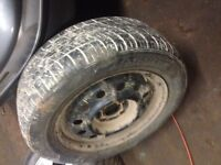 Ion spare rim and tire
