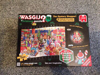 Wasgij Christmas Puzzle No 10 - The Mystery Shopper 1000pcs x 2