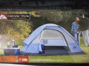 2-3 person Wedge Dome Tent 7ft x 6ftx 3.5ft high