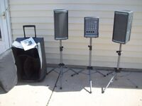 Kustom PA Profile 200 Portable PA System, Flight Case and Stands - Offers?