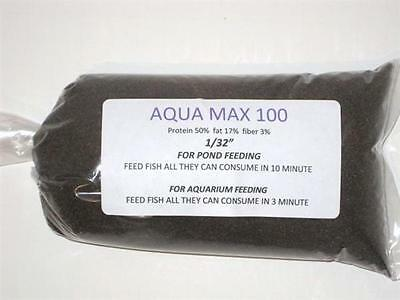 Purina 100 Fish Food 1/2 Pound Designed For Young Fry-Aquariums High 50% (1 Fish 2 Fish)
