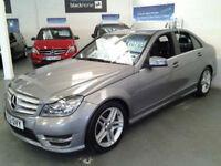 Mercedes-Benz C-ClassC220 CDI BlueEFFICIENCY AMG Sport Auto (HALF LEATHER+SAT NA