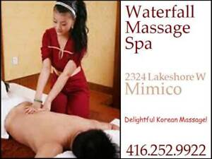 Waterfall Spa is newly opened Oriental spa in Mimico