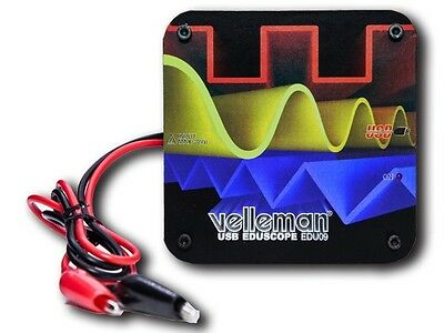 Velleman Edu09 Educational Pc Oscilloscope Kit Special