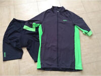 Selection of men's cycling clothing