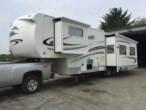 2007 34' Citation Supreme RLTS fifthwheel