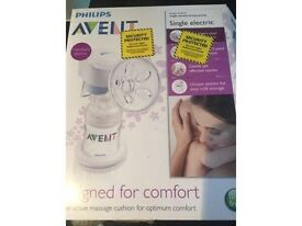 Avent single Breast pump for sale