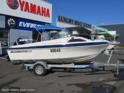 Haines Signature 1550F - With 60 hp Merc four stroke