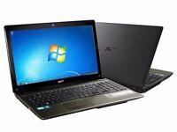 acer aspire 4gb RAm 500gb HDD Windows 7