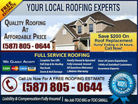 Affordable Roofing✔Low Priced Roofing Service