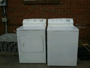 Washer an dryer set