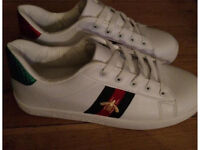Brand new Gucci bee trainers size 7