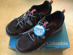 Brand New Columbia Size 7 Youth Trail Vent Cool Shoes