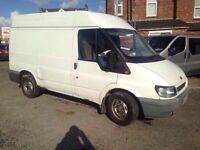 2003, Ford Transit, Short Wheel Base High Top, T300, 2 Months mot & Tax.
