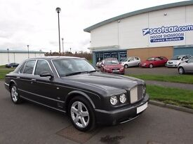 BENTLEY ARNAGE MULLINER 6.8 T 4d AUTO 451 BHP Nationwide Delivery (black) 2005
