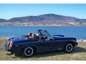 1975 MG Migit 4 spd appraised at $10,000 in 2010 /stored $4500.0