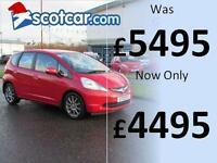 2010 HONDA JAZZ 1.3 I-VTEC SI FULL SERVICE HISTORY, ONE PREVIOUS OWNER