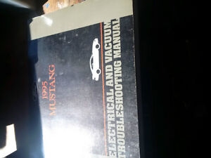 1995 Ford Mustang service manuals Windsor Region Ontario image 5