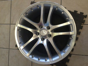 "(New Arrival) Brand New ON SALE Mercedes 18"" Machined"