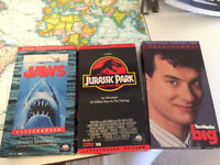 Classic VHS on Sale! Jaws, Jurassic Park, Big, and Bruce Lee Set