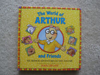 The World Of Arthur And Friends Hard Cover Book (6 Books In 1)