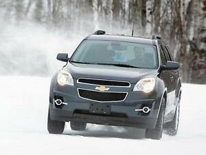 """2010-2016 Chevy Equinox New Snow Tire Package - P225/65/17 Winter Tires on 17"""" steel rims Installed and Balanced"""