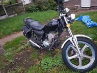 lexmoto vixen 125cc swap for 125 cruiser or small 1.0 to 1.4 max
