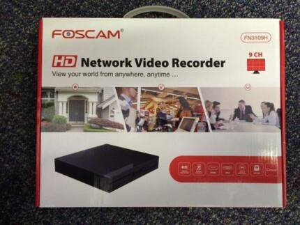 9ch IP Security Camera Network Video Recorder - Foscam FN3109H Malaga Swan Area Preview