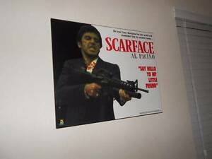 Excelent condition Scarface Film Poster