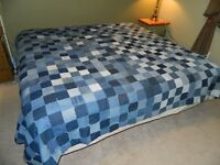 Blue Jean King size Comforter - Never used