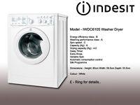 Indesit washing machine - dryer. Used. Excellent condition