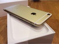 IPHONE 6 PLUS GOLD 128GB UNLOCKED TO ALL NETWORKS GREAT CONDITION
