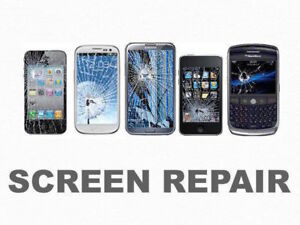 SCREEN REPAIR ON PHONES , TABLETS, IPAD AT GREAT PRICES