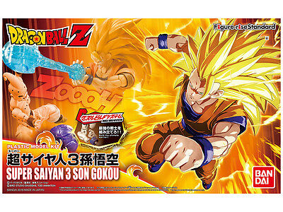 Bandai Figure-Rise Standard Super Saiyan 3 Son Goku Dragon Ball Z Building Kit (Son Kit)
