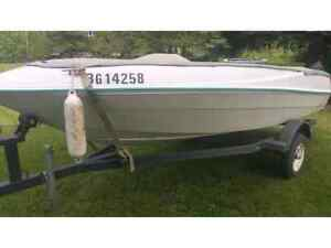 New engine low hrs 130hp inboard fast n fun