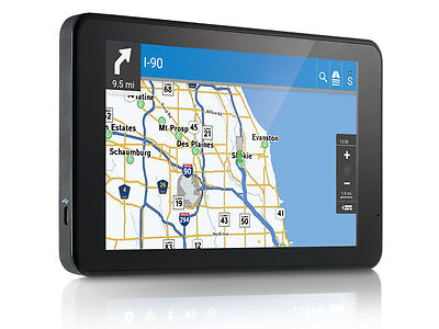 RAND MCNALLY TND740 INTELLIROUTE  TND TM  740 LM 7 GPS WITH LIFETIME MAP UPDATES