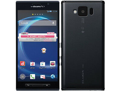 DOCOMO PANASONIC P-02E ELUGA X 5 INCH 1080P HD ANDROID SMARTPHONE UNLOCKED PHONE ()