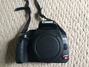 Canon XTi DSLR Camera Body