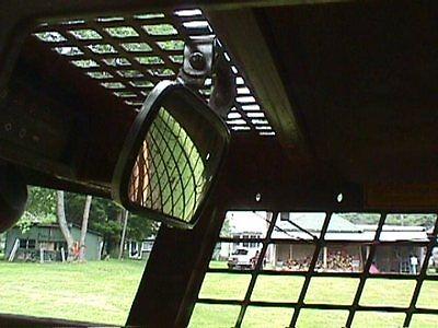 WIDE ANGLE MIRROR SKIDSTEER Equipment Loader Skid Steer Fits cat bobcat gehl etc