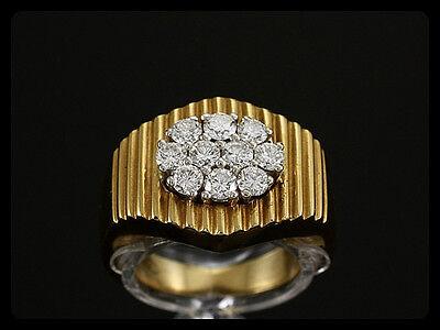 Edler Brillant Ring von C´est Laudier ca. 0,70ct  750/- Gelbgold