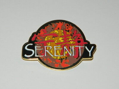 Firefly TV and Serenity Movie Name Chinese Logo Enamel Metal 2.25