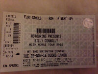 Billy Connolly ticket x1