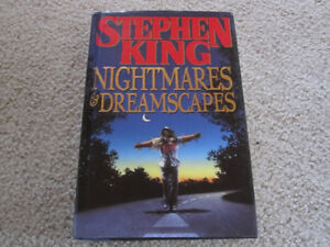Stephen King - Nightmares & Dreamscapes - hard cover novel