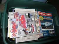 Large lot of older classic and performance car magazines