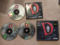 Playstation 1 'D' horror game