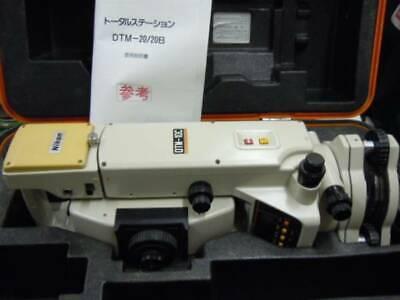 Nikon Total Station Dtm-10c 98