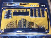 DeWalt 98 Drill And Screw Bit Set Brand New