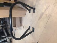 Roll bar and .Many parts for tr 6. 69 to 76